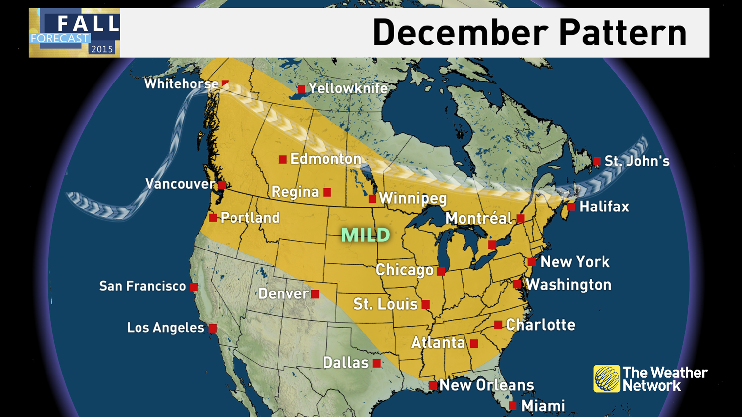 Canada Weather Map Temperature.News Winter Preview See When Cold And Snow Arrive For You The