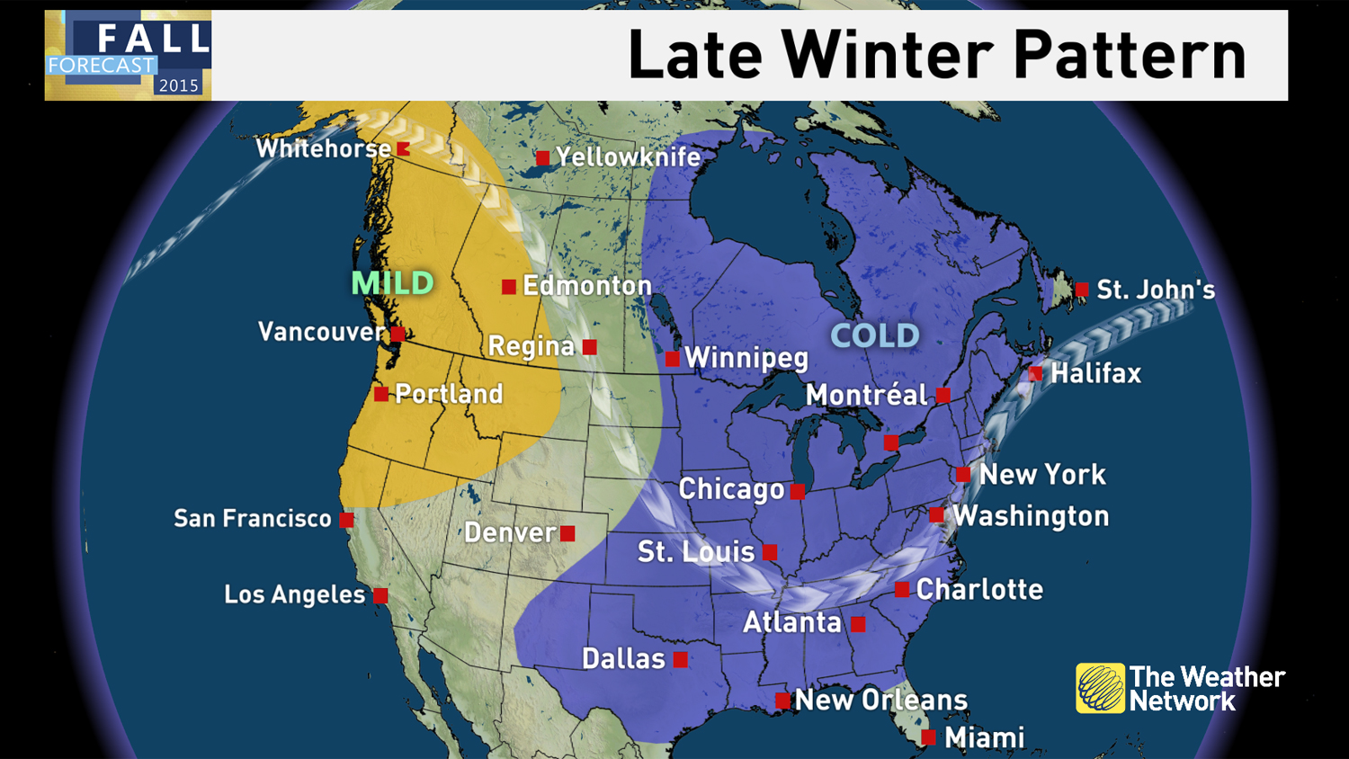 News - Winter Preview: See when cold and snow arrive for you ...