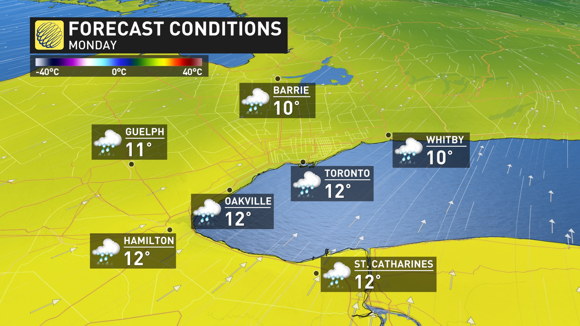 News - Ontario: Classic fall storm to follow brief warm up ...