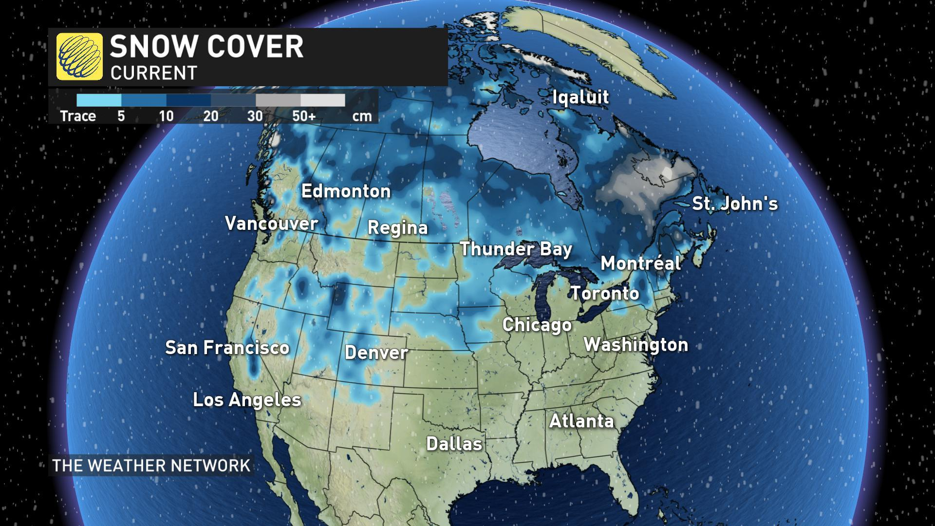 White Christmas In Canada.News Pattern Reversal Ahead Is Your White Christmas At