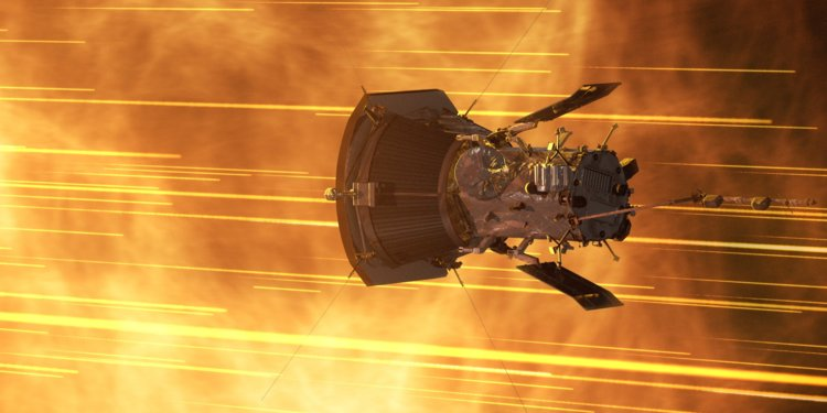 La sonda solare Parker vola attraverso la corona solare